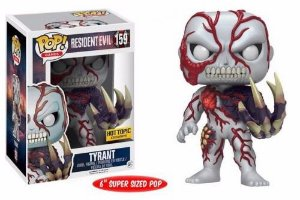 Funko Pop Resident Evil Tyrant Exclusivo Hot Topic #159