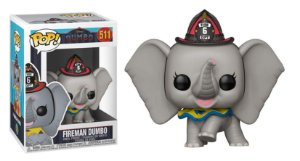 Funko Pop Disney Dumbo Fireman Bombeiro Live #511