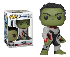 Funko Pop Marvel Vingadores Ultimato Avengers Endgame Hulk #451