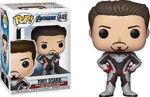 Funko Pop Marvel Vingadores Ultimato Avengers Endgame Tony Stark #449