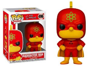 Funko Pop The Simpsons Homer Radioactive Man #496