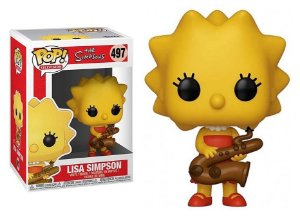 Funko Pop The Simpsons Lisa Simpson #497