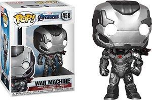 Funko Pop Marvel Vingadores Ultimato Avengers Endgame War Machine #458