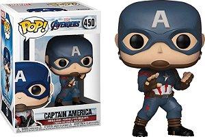 Funko Pop Marvel Vingadores Ultimato Avengers Endgame Capitão América #450
