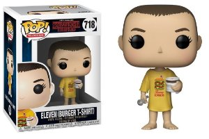 Funko Pop Stranger Things Eleven Burger T-Shirt #718