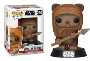 Funko Pop Star Wars Wicket #290
