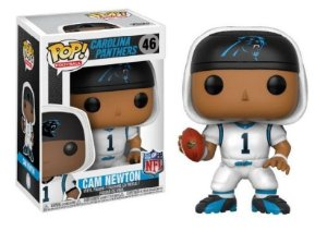 Funko Pop NFL Carolina Panthers Cam Newton (White) #46