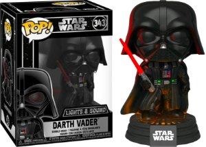 Funko Pop Star Wars Darth Vader Lights and Sound #343