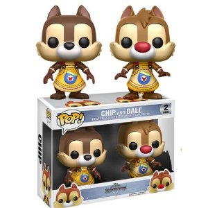 Funko Pop Chip And Dale Tico E Teco Kingdom Hearts 2-Pack
