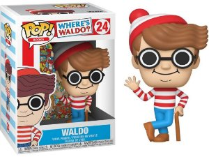 Funko Pop Onde Está Wally Where's Waldo #24