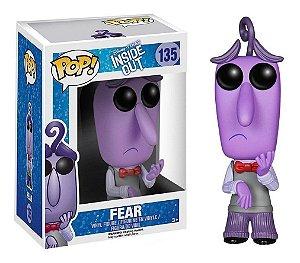 Funko Pop Disney Divertidamente Inside Out Fear Medo #135