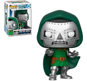 Funko Pop Marvel Quarteto Fantástico Doctor Doom #561