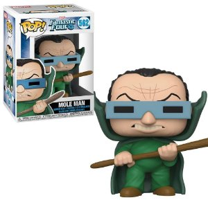 Funko Pop Marvel Quarteto Fantástico Mole Man #562