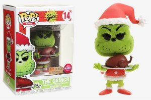 Funko Pop The Grinch Dr Seuss With Turker Exclusivo #14