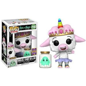 Funko Pop Rick and Morty Tinkles e Ghost in a Jar Exclusivo SDCC #256