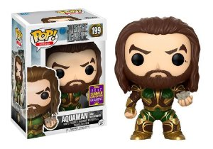 Funko Pop DC Justice League Aquaman Exclusivo SDCC #199
