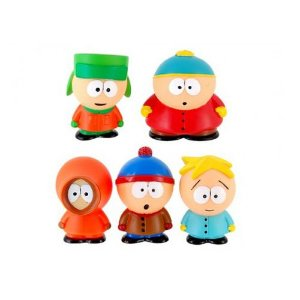 Set C/5 Miniaturas South Park Cartman Kyle Kenny Stan Butters