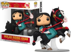 Funko Pop Disney Mulan - Mulan On Khan #76
