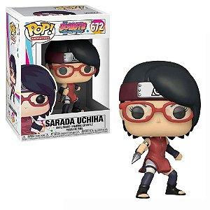 Funko Pop Naruto Boruto Sarada Uchiha #672
