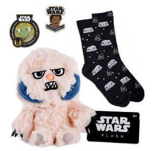 Star Wars Pelucia Wampa + Pin + Patch Smugglers Bounty Funko