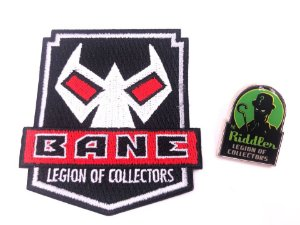 Pin e Patch Villains Dc Legion Of Collectors