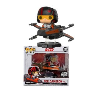 Funko Pop Rides Star Wars Poe Dameron With X-wing Smugglers Bounty #227