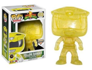 Funko Pop Power Rangers Yellow Ranger Morphing Exclusivo #413