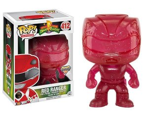 Funko Pop Power Rangers Red Ranger Morphing Exclusivo #413