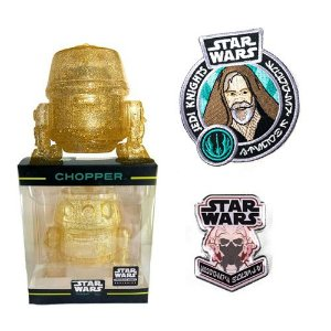 Hikari Chopper + Pin + Patch Star Wars Smugglers Bounty Funko