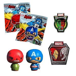 Funko Pint Size + Pin + Patch Superhero Showdowns Marvel Collectors Corps