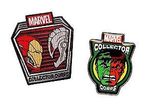 Funko Pin + Patch Superhero Showdowns Marvel Collectors Corps