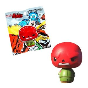 Funko Pint Size Caveira Vermelha Red Skull Exclusivo Marvel Collectors Corps