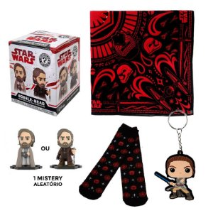 Star Wars Mistery Mini + Meia + Chaveiro The Last Jedi Smugglers Bounty
