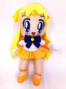 Pelúcia Sailor Moon - Sailor Venus Queen Serenity 18cm