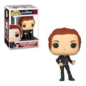 Funko Pop Marvel Viuva Negra Black Widow Natasha Romanoff #603