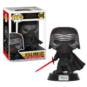 Funko Pop Star Wars Ryse of Skywalker Kylo Ren Supreme Leader #308