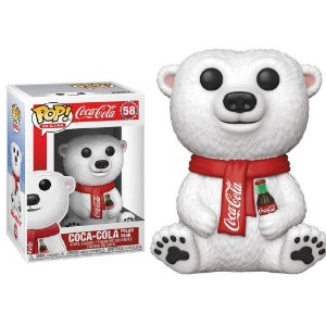 Funko Pop Coca Cola Urso Polar #616