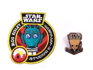 Pin + Patch Greedo Star Wars Smugglers Bounty Funko