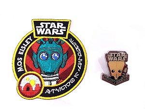 Funko Pin + Patch Greedo Star Wars Smugglers Bounty