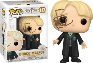 Funko Pop Harry Potter Draco Malfoy with Whip Spider #117