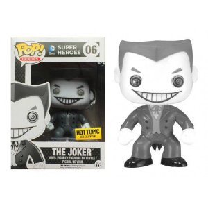 Funko Pop DC The Joker Coringa Black and White Exclusivo Hot Topic #06