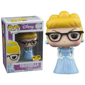Funko Pop Disney Cinderella Hipster Exclusiva Hot Topic #157