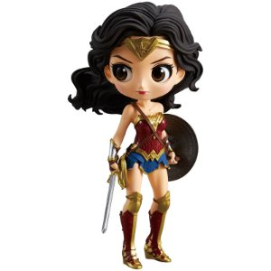 Mulher Maravilha Liga Da Justiça Q Posket Bandai Dc Comics