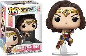 Funko Pop DC Mulher Maravilha 1984 - Wonder Woman Flying #322