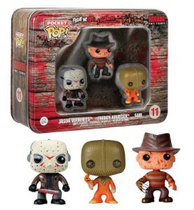 Funko Pocket Pop Horror Jason Freddy Sam 3 Pack