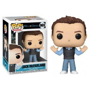 Funko Pop Will e Grace Jack McFarland #969