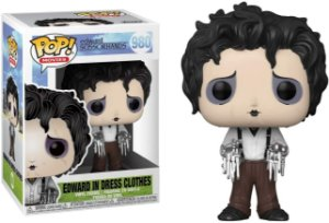 Funko Pop Edward Mãos de Tesoura Scissorhands #980