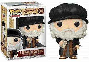 Funko Pop Leonardo Da Vinci #04