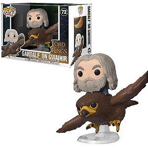 Funko Pop Rides Senhor dos Aneis Gandalf On Gwaihir #72