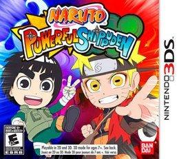Jogo Naruto Powerful Shippuden Cartucho Nintendo 3DS